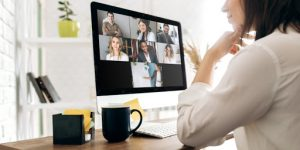 pod video meeting